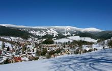 Rokytnice nad Jizerou w zimie